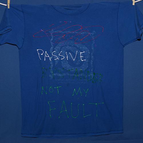Passive bystander, not my fault