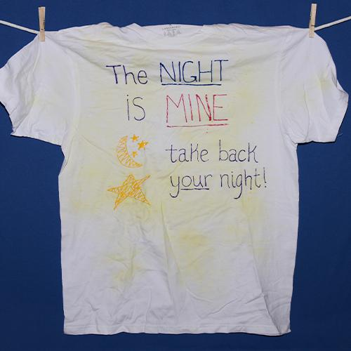 The night is mine, take back your night!