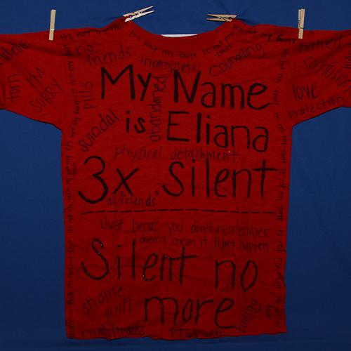 My name is Eliana 3x silent. Silent no more.